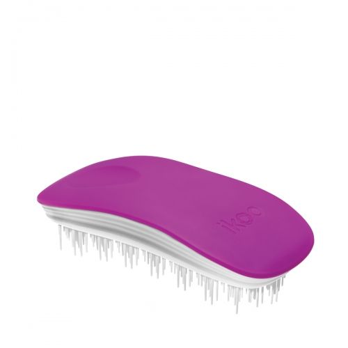 Четка за разресване Ikoo Brush Paradise Collection White - Sugar Plum