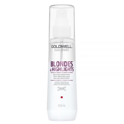 Спрей за блондинки Goldwell Blondes&Highlights Brilliance Serum Spray 150 мл