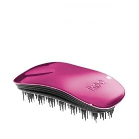 Четка за разресване Ikoo Brush Metallic Collection Black - Cherry Metallic
