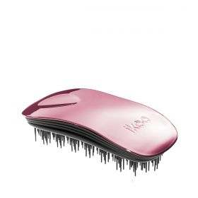 Четка за разресване Ikoo Brush Metallic Collection Black - Rose Metallic
